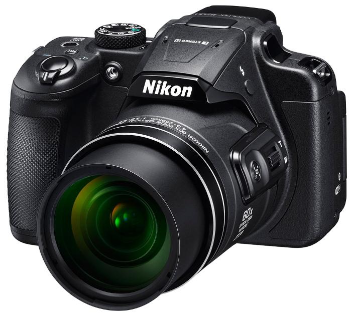 Nikon Coolpix B700 black - (21.14 млн, оптический zoom: 60x, 1920x1080, 5 кадр./сек, ЖК-экран: поворотный, 921000 точек, 3 дюйма)