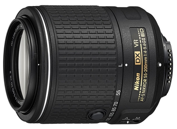 Фотообъектив Nikon 55-200mm f/4-5.6G AF-S DX ED VR II Nikkor JAA823DA