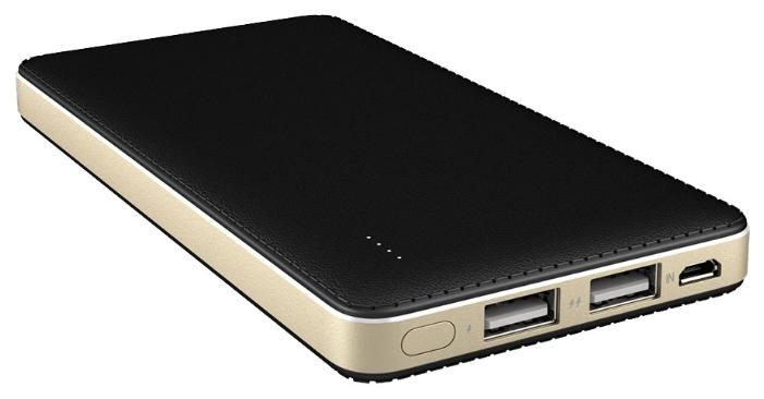 Rombica Neo X100 10000 mAh - (10000 мАч (37 Втч); 2.1 А; Вход - micro USB / Выход - USBx2 • Индикатор заряда - есть.)