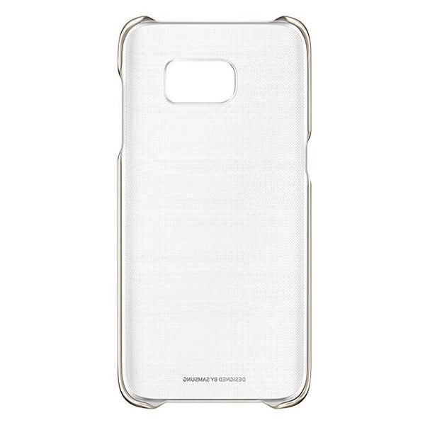 Samsung для Samsung Galaxy S7 edge Clear Cover - (Samsung Galaxy S7 edge; пластик, резинка)