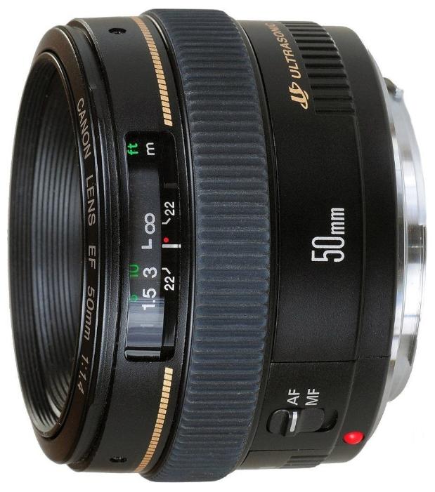 Фотообъектив Canon EF 50mm f/1.4 USM 2515A012
