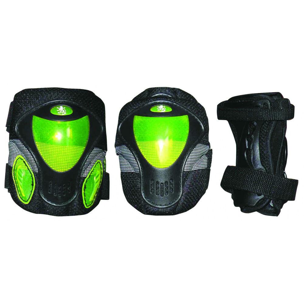 Защита роликовая Larsen P9B зеленый M