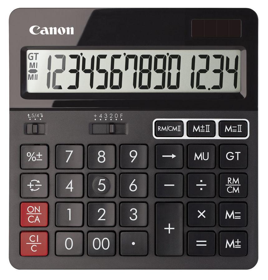 Калькулятор Canon AS-240 14-разрядный Чёрный