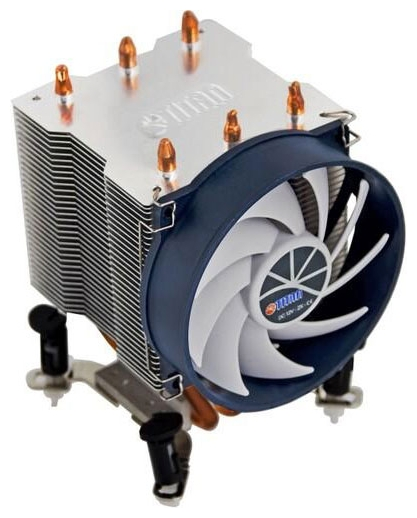 Titan TTC-NK35TZ/R(KU) - для процессора; вентиляторов 1 (92x92x25 мм); 2200 об/мин; радиатор - алюминий, медь • S775, S1150/1155/S1156,