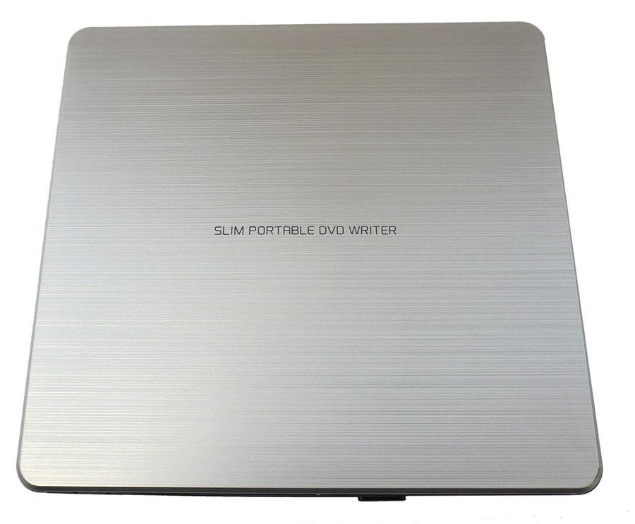 Внешний оптический привод LG GP60NS60 (DVD RW DL, Slim), Silver