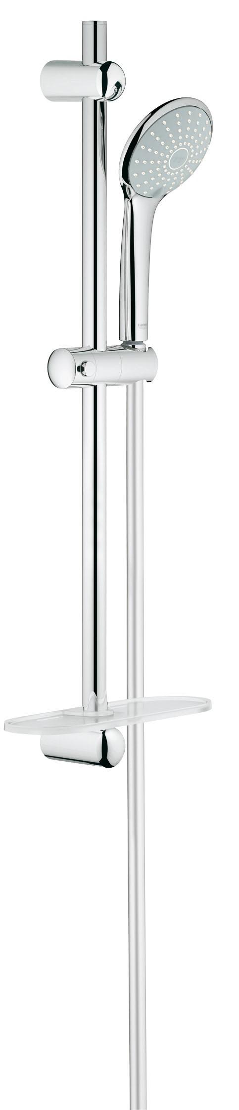 Grohe 27230001 Euphoria (ручной душ, штанга 600 мм, шланг 1750 мм), хром (27230001)