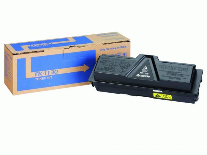 Kyocera TK-1130 Black - ; на 3000 копий при 5% заполнении листа • Kyocera FS-1030MFP, FS-1030MFP/DP, FS-1130MFP. 1T02MJ0NL0