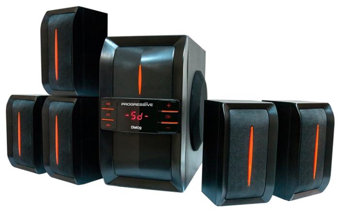 Колонки BBK MA-845S 5.1 150Вт черный
