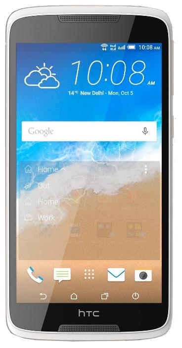 HTC Desire 828 LTE 16Gb Pearl White - (; GSM 900/1800/1900, 3G, 4G LTE, LTE-A Cat. 4; SIM-карт 1 (nano SIM); MediaTek MT6753T, 1500 МГц; RAM 2 Гб; ROM 16 Гб; 2800 мАч; 13 млн пикс., светодиодная вспышка; есть, 4 млн пикс.; датчики - освещенности, приближения, компас)