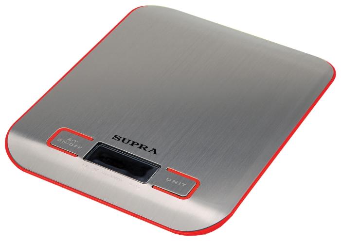 Весы кухонные Supra BSS-4076, red BSS-4076 Red