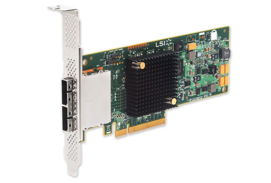 Контроллер LSI Logic 9207-8e SGL LSI00300 (H5-25427-00)