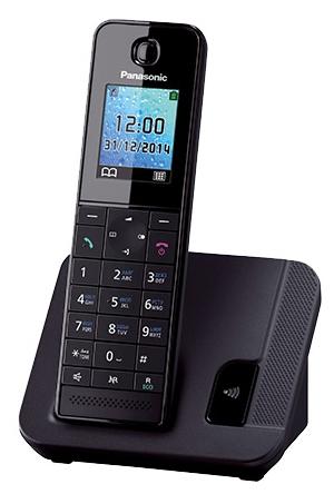 Радиотелефон DECT Panasonic KX-TGH210RUB Black