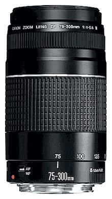 Фотообъектив Canon EF 75-300mm f/4-5.6 III (6473A015)