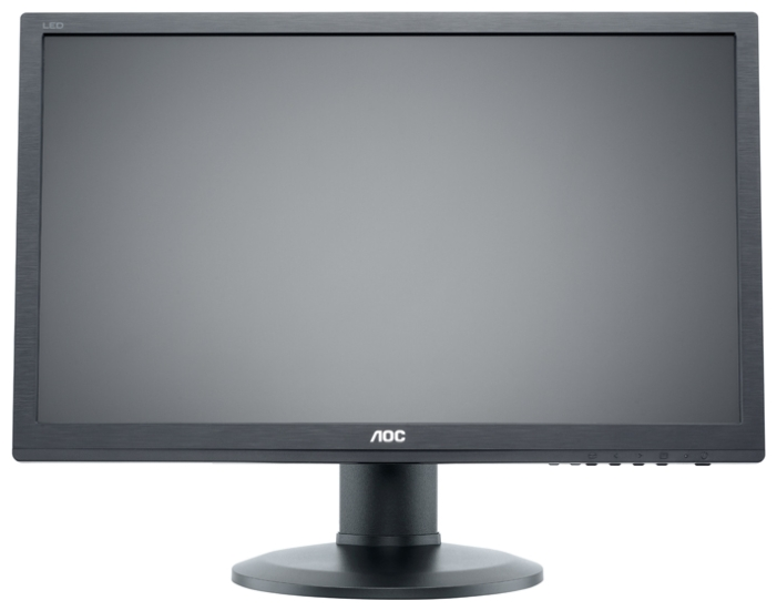 "AOC 24"" E2460PHU Black - (24"", WLED, 1920x1080 (16:9), 250 кд/м2, 1000:1, 20000000:1, 2 мс, 16.7 млн. цветов, стереоколонки, DVI-D (HDCP), HDMI, VGA (D-Sub), аудио стерео)"