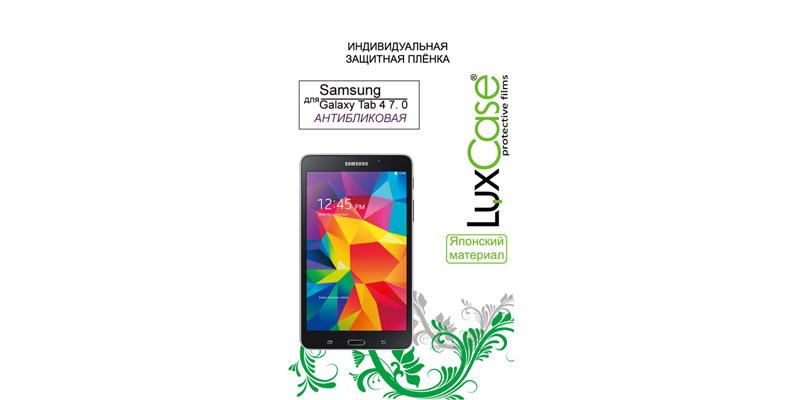 Защитная пленка LuxCase для Samsung Galaxy Tab 4 7.0 80844