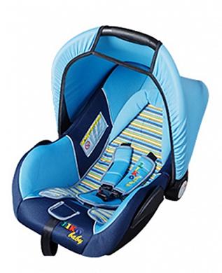 Автокресло группы 0+ (0-13 кг) Liko Baby LB-321 A, blue / light blue