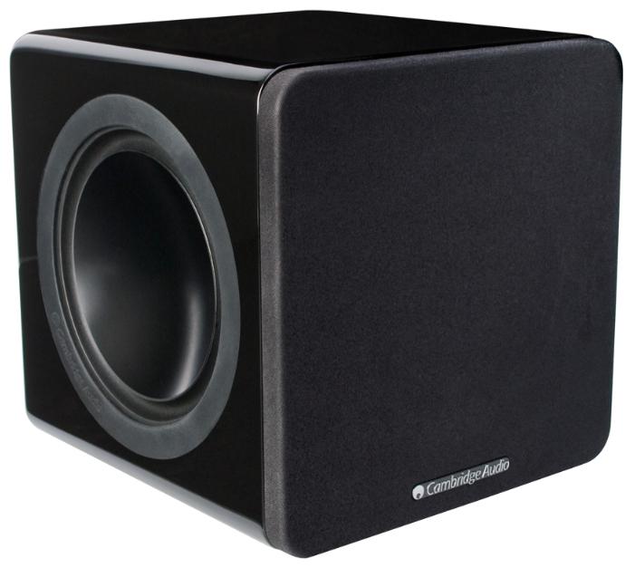 Cambridge Audio Minx X301 Black - напольная, активная, с пассивным излучателем; сабвуфер (1 громкоговоритель); полос 1; 31-200 Гц (-6