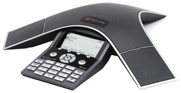 VoIP-телефон Polycom SoundStation IP7000, USB, WAN, LAN, есть определитель номера 2230-40300-122