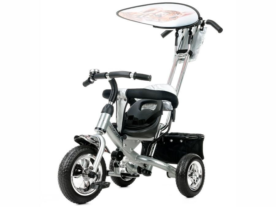 Велосипед трехколесный Liko Baby LB 772, silver