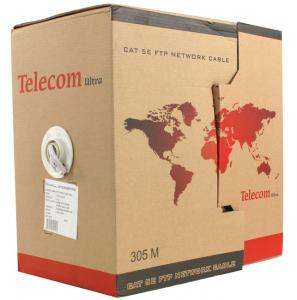 Кабель в бухте Telecom Ultra FTP 5e level (305m) TFS44050E