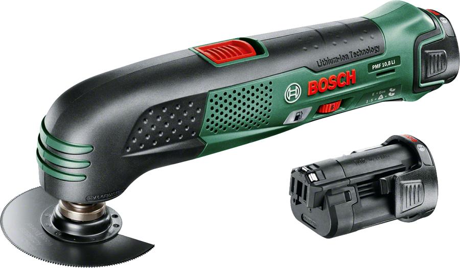 Шлифовальная машина Bosch PMF 10.8 Li, 2 аккумулятора [0.603.101.926]