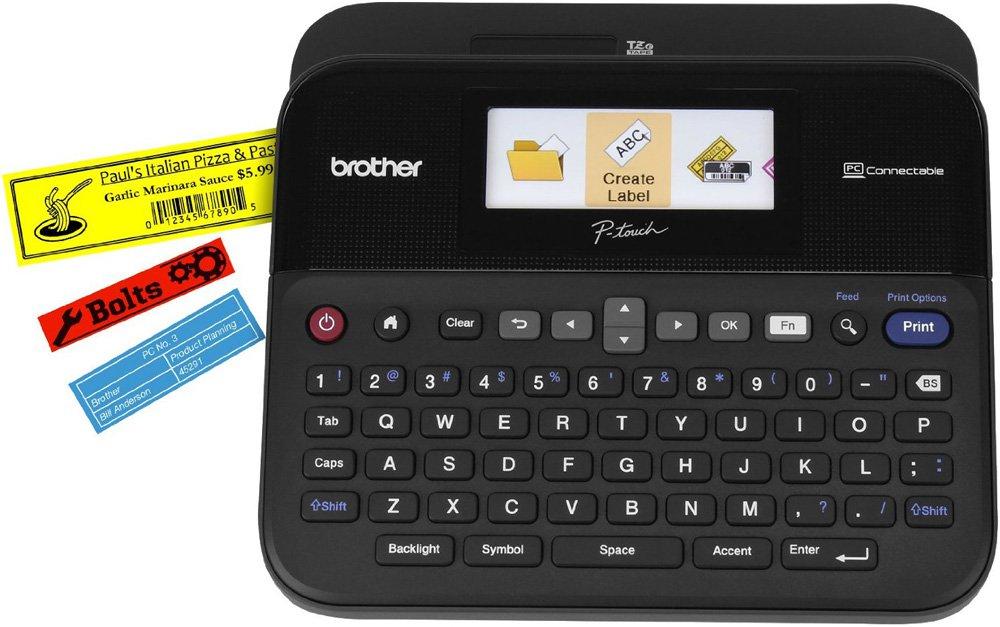 Принтер для этикеток Brother P-touch PT-D600VP PTD600VPR1