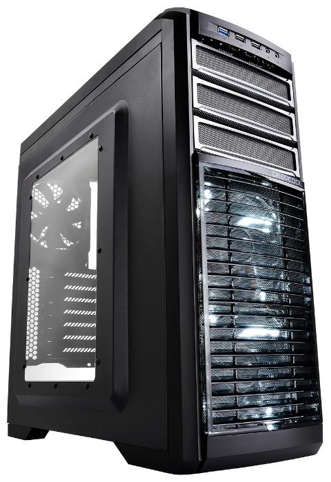 Корпус для компьютера KENDOMEN TI без БП боковое окно, black