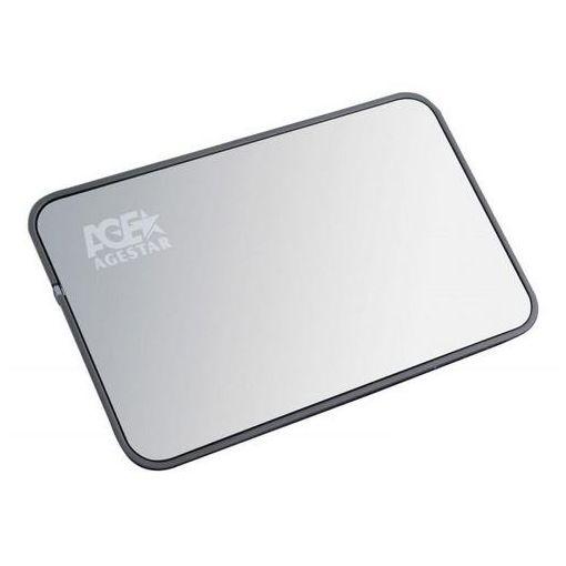 Корпус для жесткого диска AgeStar 3UB2A8 Silver