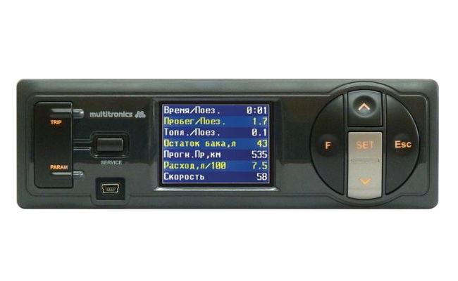 Multitronics CL-550 - 9 - 16 В; Экран ЖК, цветной, 2.4''; 320x240; Мультидисплей есть Multitronics_CL-550