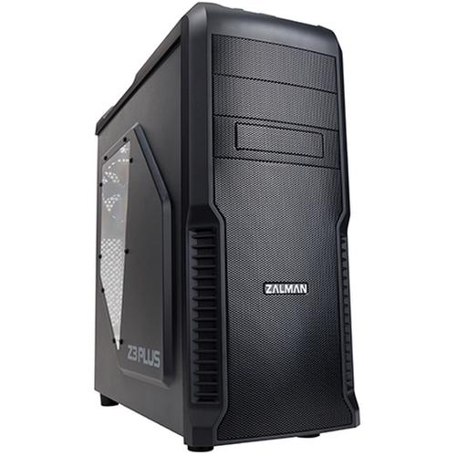 Zalman Z3 Plus Black - черный, ATX, Midi-Tower, БП нет, 3 внутр. 5.25''