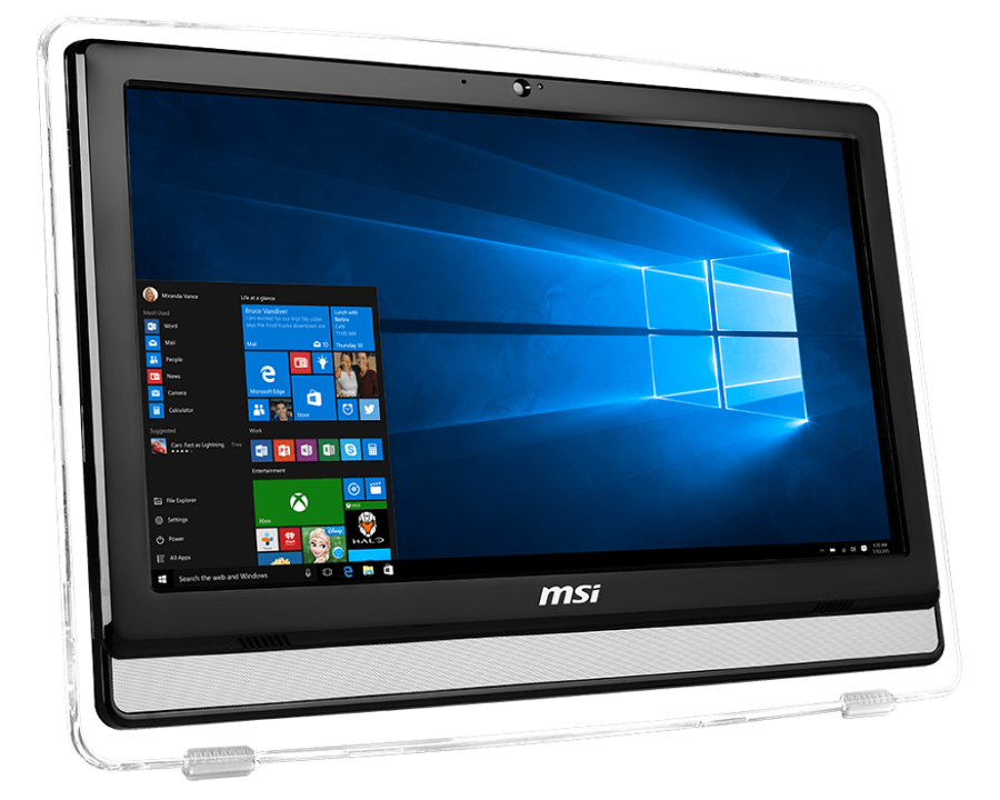 "MSI Pro 22E 6M-022RU (9S6-AC1711-022), Black - (Intel Core i3-6100 / 3.70 ГГц; 4 Гб; 1000 Гб; ODD - DVD Super Multi • Экран 21.5"" 1920x1080; Intel HD Graphics (интегрированная) • LAN 10-1000 Мбит/с; Wi-Fi 802.11 b/g/n • MS Windows 10)"