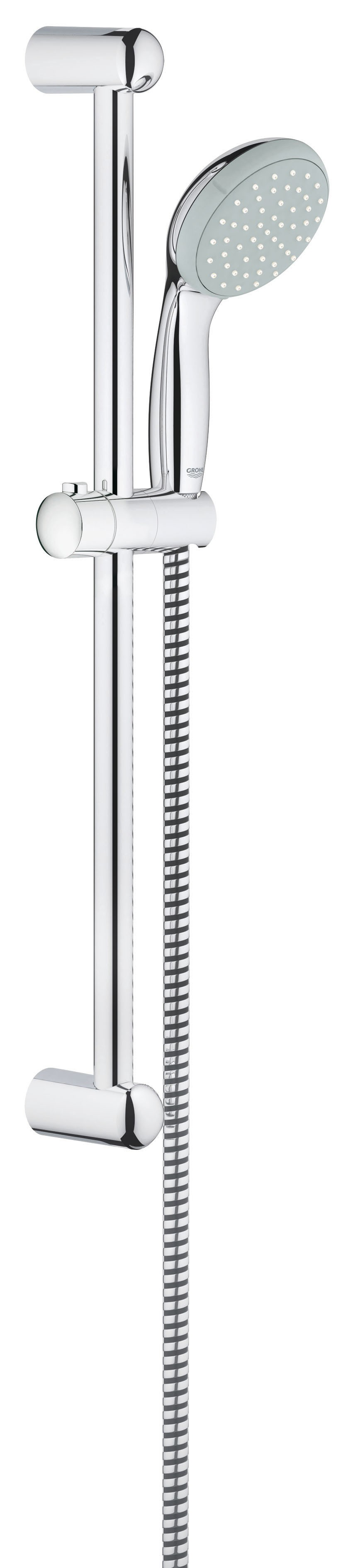 Grohe 27853000 Tempesta Classic (ручной душ, штанга 600 мм, шланг 1750 мм), хром (27853000)