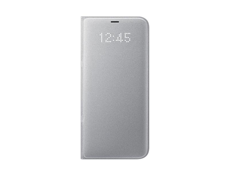 Чехол Samsung для Samsung Galaxy S8+ LED View Cover, silver