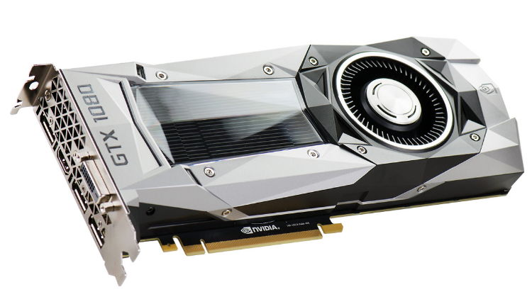 Видеокарта EVGA GeForce GTX 1080 1607Mhz PCI-E 3.0 8192Mb 10000Mhz 256 bit DVI HDMI HDCP, FOUNDERS EDITION 08G-P4-6180-KR