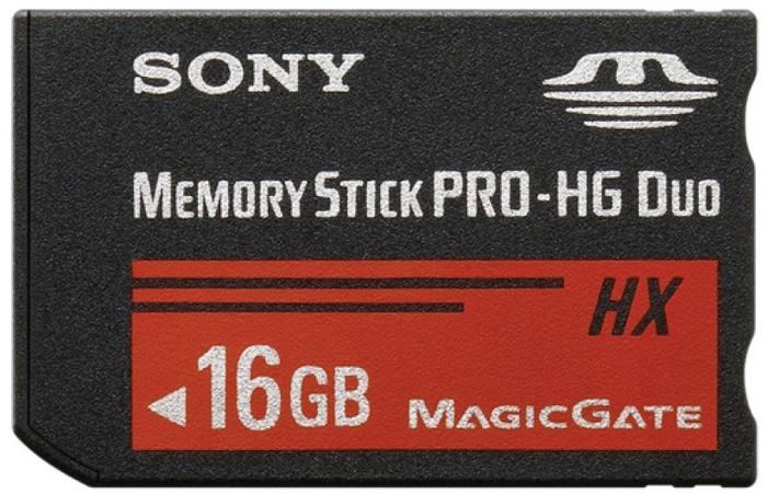Карта памяти Sony Memory Stick Pro-HG Duo MSHX16B/T1