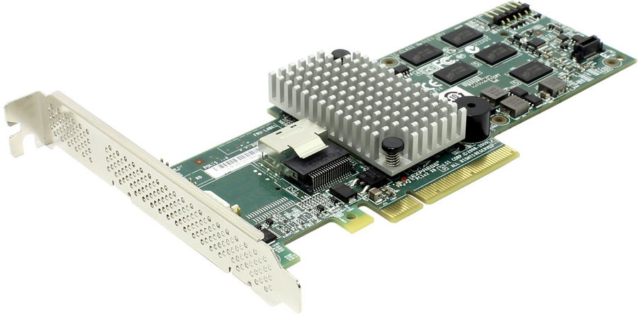 Контроллер LSI Logic MegaRAID SAS 9260-4i SGL (LSI00197)