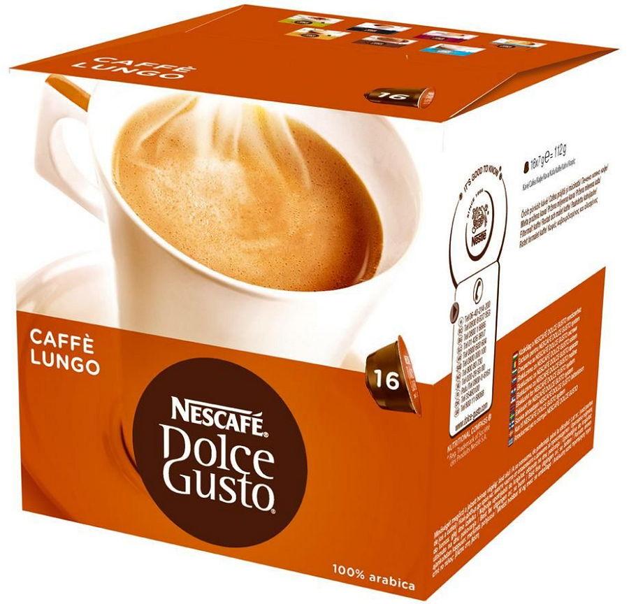 Кофе Nescafe Dolce Gusto Lungo