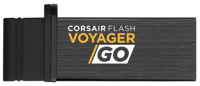 Флешка Corsair Flash Voyager GO 64GB, Black