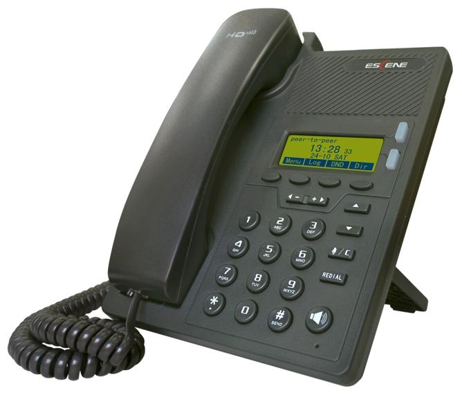 VoIP-телефон Escene ES205-PN, WAN, LAN, есть определитель номера ESCENEES205-PN