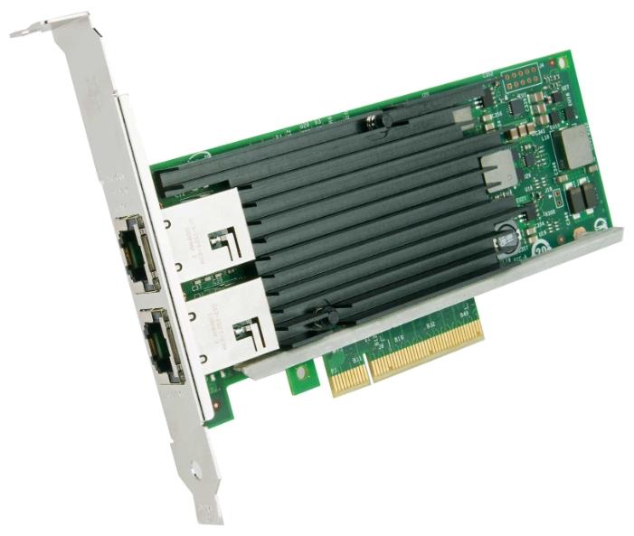 Lenovo 4XC0F28732 - PCI-E, 10/100/1000/10000 Мбит/с, кол-во разъемов RJ-45: 2