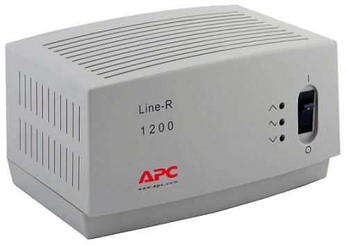 Стабилизатор напряжения APC by Schneider Electric Line-R LE1200-RS