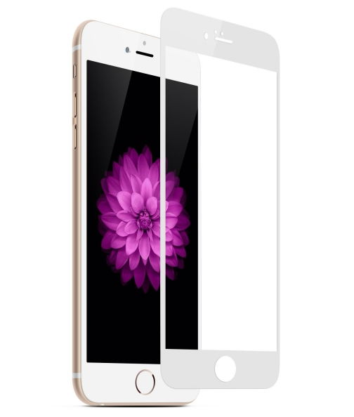 Стекло защитное Aiwo для Apple iPhone 7, 2.5D, White