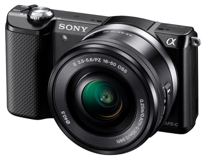 Sony Alpha A5000 Kit 16-50 черный - (20.4 млн, 1920x1080, 3.5 кадр./сек, ЖК-экран: поворотный, 460800 точек, 3 дюйма)