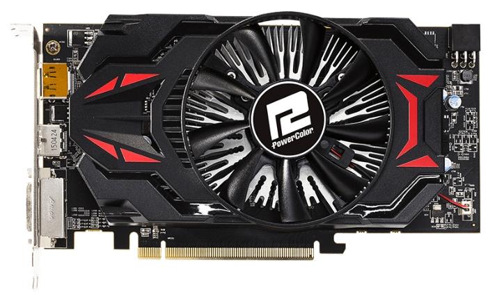 Видеокарта PowerColor Radeon R7 360 2048Mb AXR7 360 2GBD5-DHE