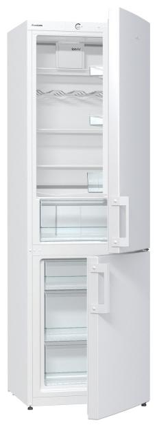 Gorenje RK6191BW, white - (холодильник, 319 л (клим.класс N, T), компрессоров 1, камер 2, дверей 2. Хол-ник 223 л (разм. капельная система). Мор-ник 96 л (разм. ручное). ШГВ 60x64x185 см. Управление электромеханическое. Энергопотр-е класс A+ (308 кВтч/год). белый / пластик)