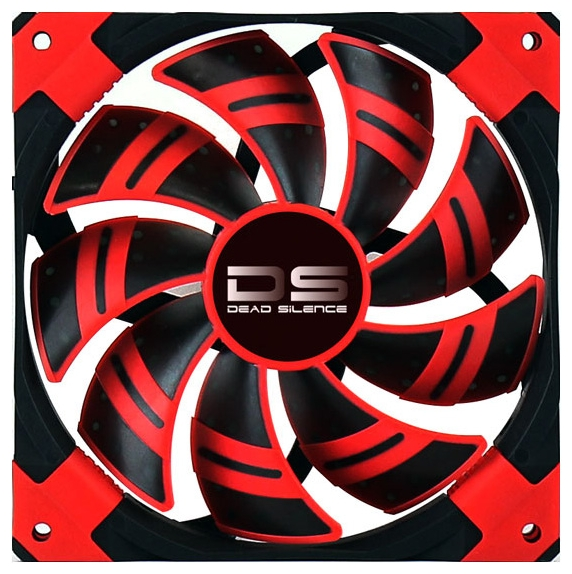 Вентилятор корпусной AeroCool 14cm DS Fan, Red 4713105951615