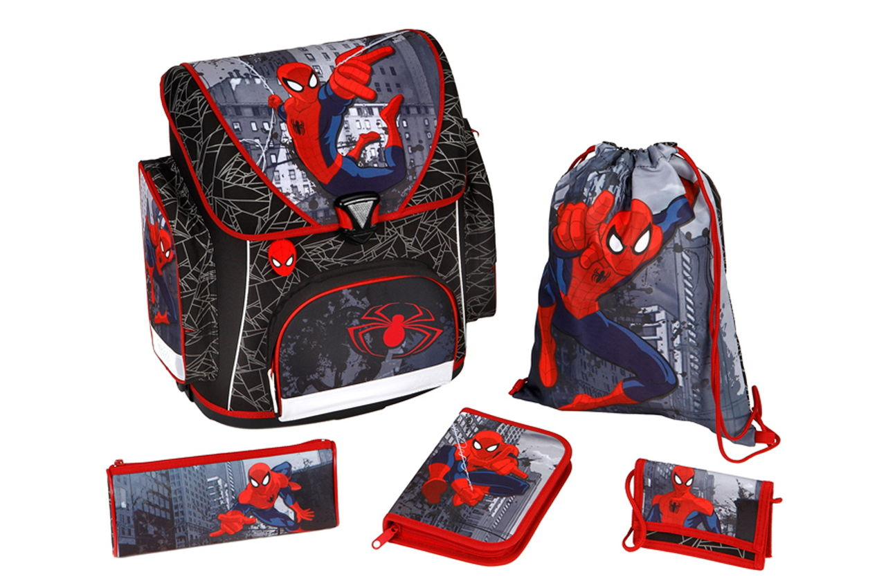 Scooli Spider-Man 5 позиций