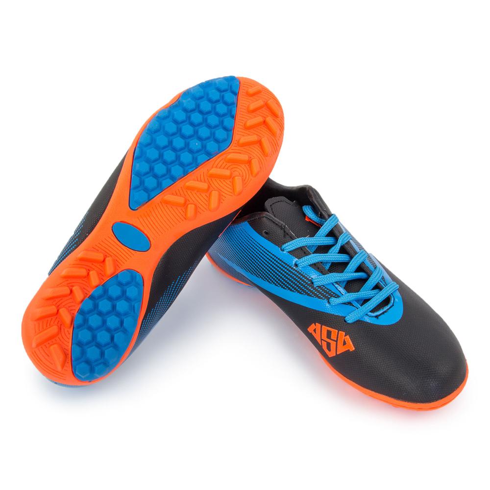 полуботинки кроссовые Furia Torf black/blue (39)