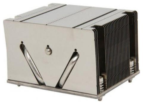 Supermicro SNK-P0048PS - для процессора; вентиляторов нет (пассивное охлаждение); радиатор - алюминий+медь • S2011