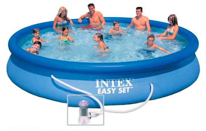 Бассейн надувной Intex серия Easy Set 28158